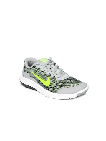 a9753eaeca28f Nike Kids Unisex Grey Flex Experience 4 Running Shoes available at Myntra  for Rs.2197