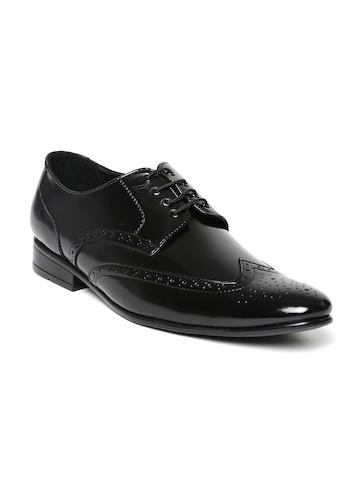 buy san frissco black formal shoes formal shoes for