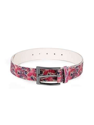 French Connection Men Red Belt