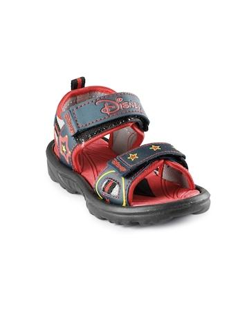 Disney Kids-Unisex Diamond Red Sandals