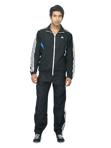 Adidas Men Black Tracksuit
