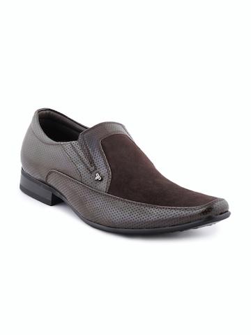Provogue Men Brown Formal Shoes