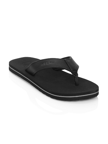 Kelme Men Black Flip Flops