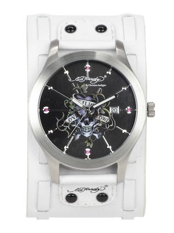 Ed Hardy Men Black Dial Watch