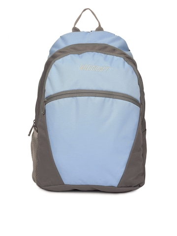 Wildcraft Unisex Blue & Grey Backpack