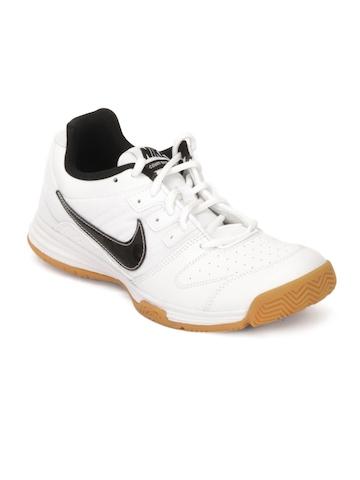 Nike Men Court Shuttle White Sports Shoes