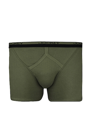 Jockey Men Olive Midway Classic Trunks