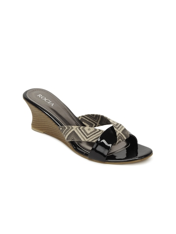 Rocia Women Black Wedges