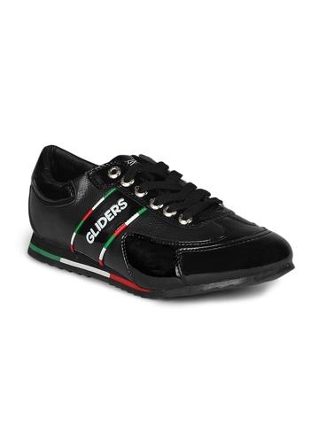 Gliders Men Black Shoes