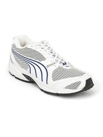 Puma Men White Aquil Sports Shoes