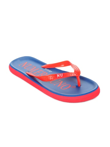 Numero Uno Men Navy Blue Flip Flops