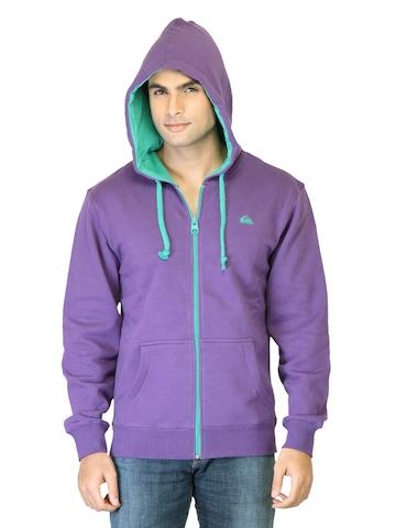 Quiksilver Men Purple Sweatshirt