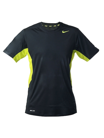 Nike Men Black Speed Cricket T-shirt
