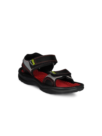 Marvel Boys Red and Black Sandals