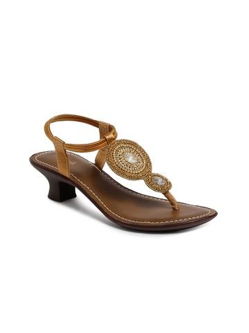 Catwalk Women Casual Gold Heels