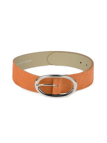 French Connection Women Orange Belt