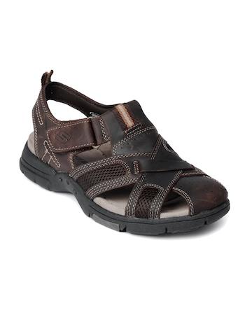 Skechers Men Summers Brown Sandals