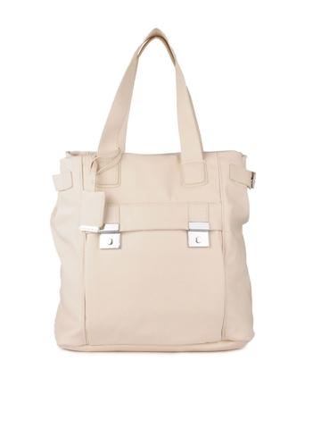 French Connection Women Cream Handbag