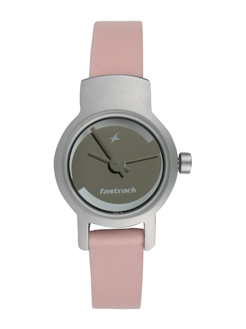 Fastrack Women Silver Casual Watch