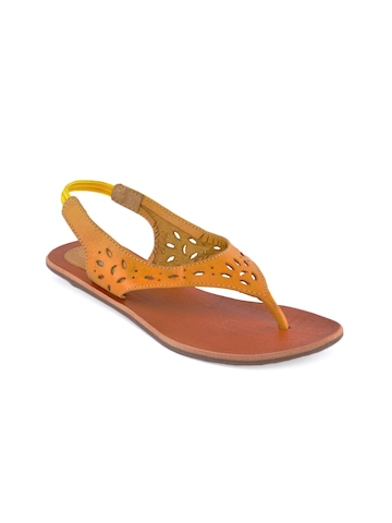 Catwalk Women Yellow Casual Sandals