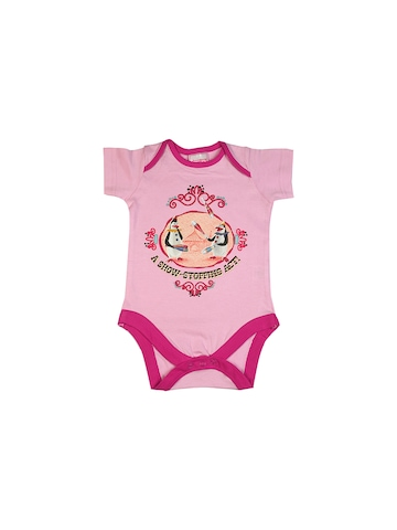 Madagascar3 Infant Girls Pink Snapsuit Romper
