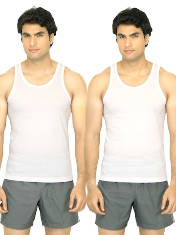 Undercolors of Benetton Men Basic Pack of 2 Innerwear Vests