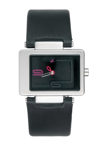 Fastrack Women Black Dial Watch NA2404SL02