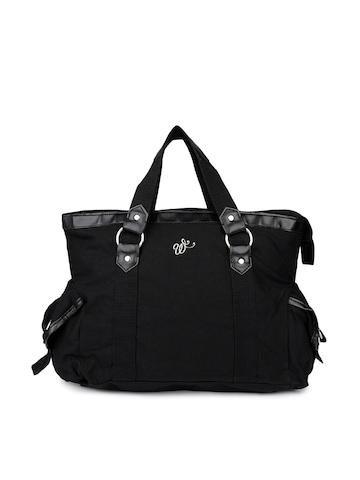 Wrangler Women Black Canvas Handbag