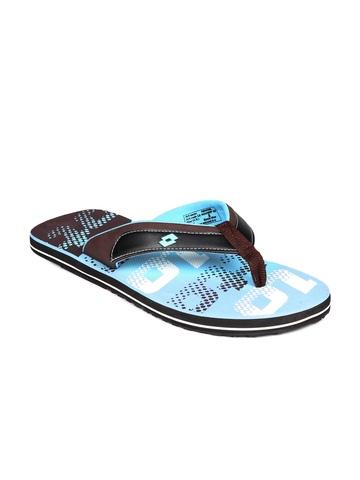 Lotto Men Blue Flip Flops