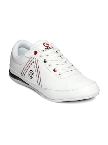 Globalite Men White Max Shoes