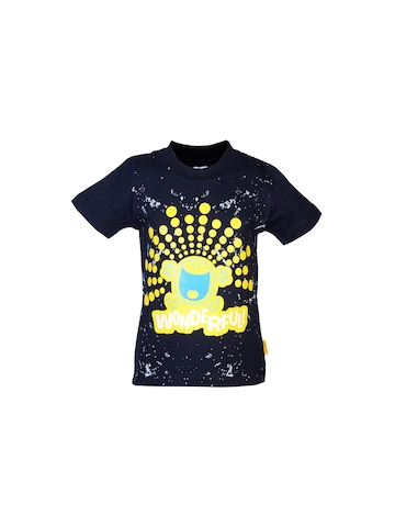 Mr.Men Boys Wonderful Black T-shirt