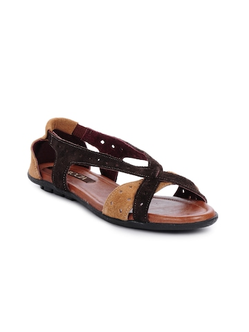 Rocia Women Brown Casual Sandals