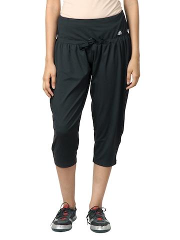 Adidas Women Black Capris