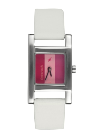 Fastrack Women Pink Dial Watch