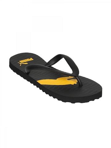 Puma Men Black Flip Flops