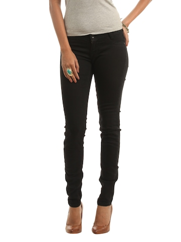 Wrangler Women Black Jeggings