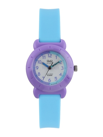 Q&Q Kids Unisex White Dial Analog Watch