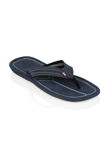 U.S. Polo Assn. Men Blue Flip Flops