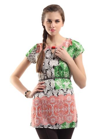 109F Women Multicoloured Tunic