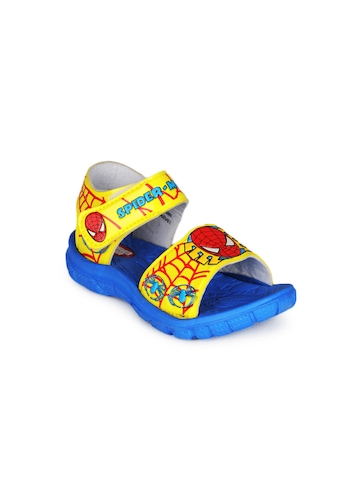 Marvel Boys Yellow Sandals