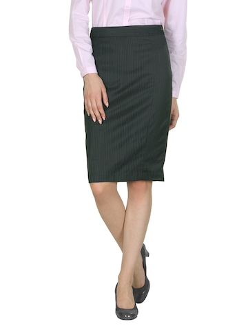 Van Heusen Woman Black Skirt