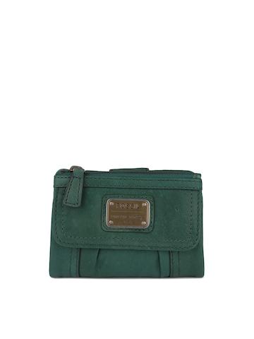Fossil Women Green Wallet