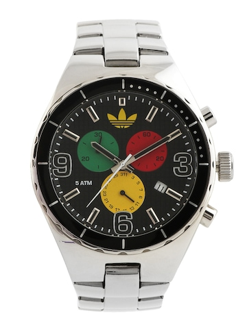 Adidas Original Unisex Black Dial Chronograph Watch ADH2641