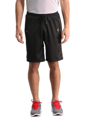 Puma Men Dazzle Black Shorts