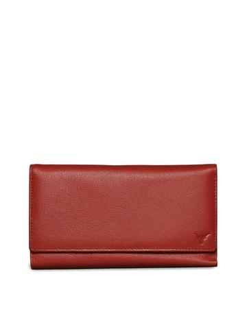 Hidekraft Women Red Wallet
