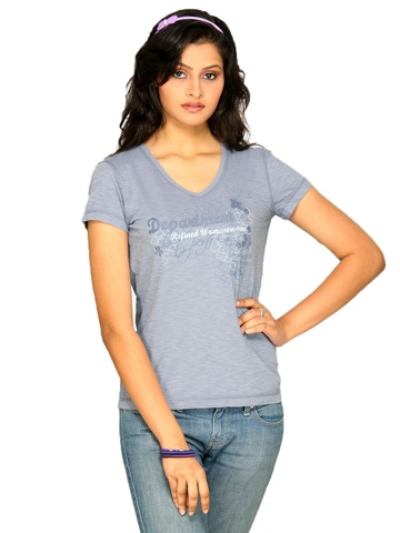 s.Oliver Women Blue T-shirt