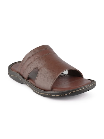 Lee Cooper Men Brown Sandals