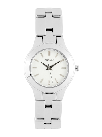 DKNY Women White Dial Watch