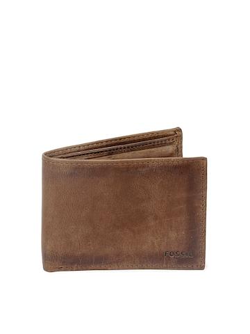 Fossil Men Brown Carson Wallet