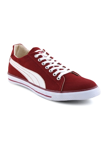 Puma Unisex Red Hip Hop Shoes